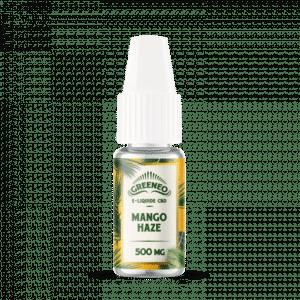 greeneo mango haze eliquide 500 mg cbd
