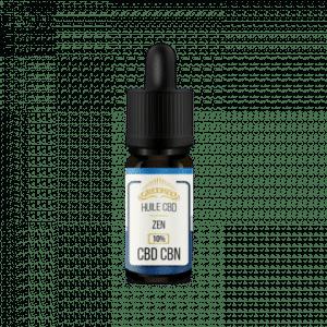 huile flacon 10 ml guadeloupe cbd + cbn